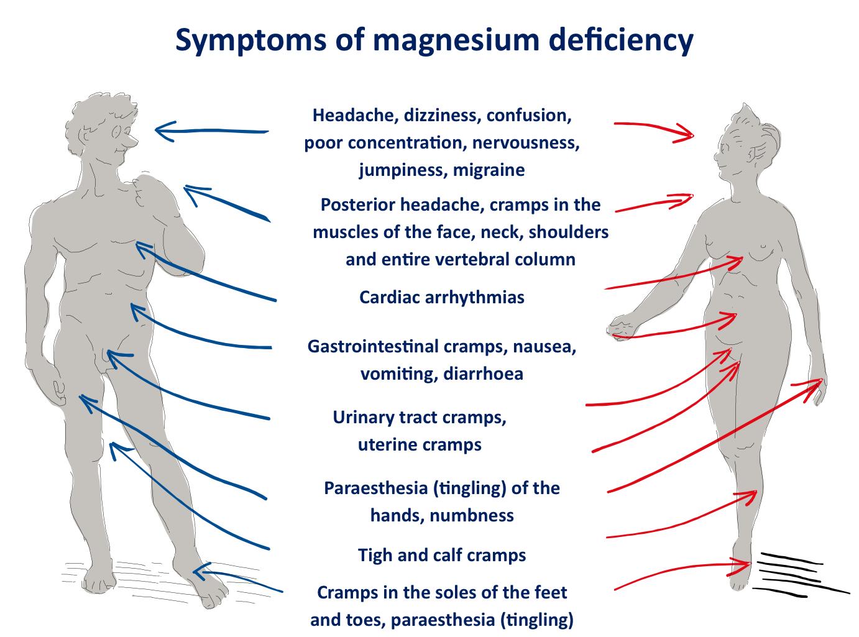 Mg deficiency